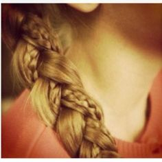 Little braid inside a larger braid (: