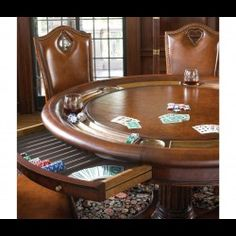 Aw-Sum Game Tables, Chairs & Card Tables Super assortment of upscale game room furniture for whatever your you play. http://bernadettelivingston.com/34-luxury-furniture-best-designers-artisans-in-the-world