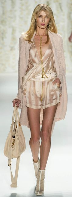 #Rachel Zoe Spring Summer 2013 Ready-To-Wear Collection<3   #Trend Neutrals #Trend Shine