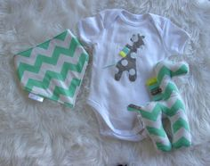 This listing is for one Sweet little baby onsie, dribble bib and matching giraffe softie. My Giraffe and me. Dribble Bibs, Boy First Birthday, Unisex Baby, Softies, Little Babies, First Birthdays, Giraffe, Baby Shower Gifts, Trending Outfits