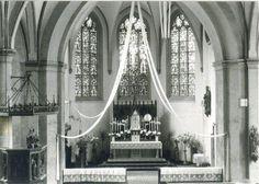 Innenaufnahme in der kath. Pfarrkirche in Ostbevern