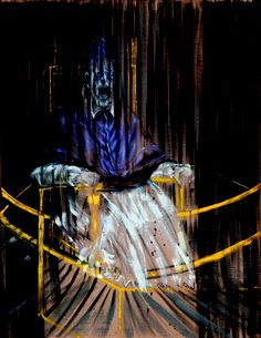 'Study after Velazquez's Portrait of Pope Innocent X' by Francis Bacon (1953)