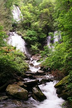 Gorgeous Anna Ruby Falls near Helen, GA