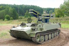 Tunguska M1 Anti-Aircraft air defence System (NATO designation SA-19 Grison)