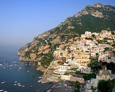 Amalfi Coast, Italy - Our drive between San Vito and Naples.