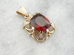 Collectors Quality Hessonite Gem And Royal Style by MSJewelers