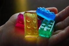 craftyc0rn3r: Lego Glycerin Soap. Great idea for DIY Christmas gifts.