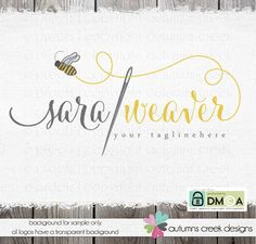 premade logo sewing logo design photography logo by autumnscreek