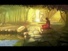 Relax to the sounds of nature and Chinese bamboo flute music.