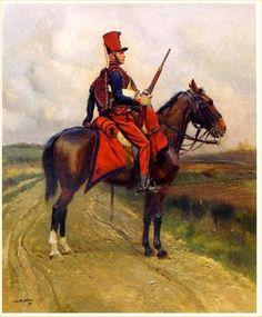 Sixième Régiment de Chasseur à cheval, 1900