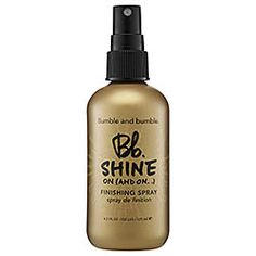 Bumble and bumble - Let it Shine on (and on...) Finishing Spray  #sephora