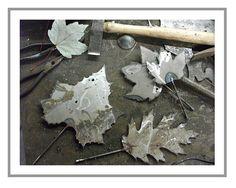 Blacksmithing table..........