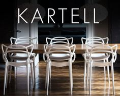 Shop the technical and aesthetic innovation of Kartell at YLiving and get Free Shipping! http://www.yliving.com/brand/Kartell/_/N-1sbec