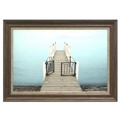 Dock with Gate Framed Wall Décor - BedBathandBeyond.com