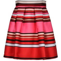 Alberta Ferretti Skirt (12 085 UAH) ❤ liked on Polyvore featuring skirts, bottoms, saias, faldas, fuchsia, skirts & pants, alberta ferretti, fuchsia skirts, red skirt and alberta ferretti skirt