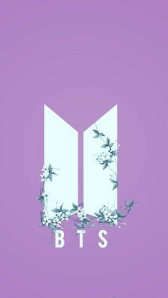 BTS Nuevo Logo Wallpaper