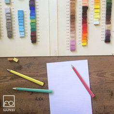 Ricerca maniacale del colore, della bellezza, del dettaglio: come noi, ogni artigiano mira all'eccellenza.  #NAPKINFOREVER #MadeinItaly