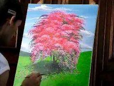 Oleo Sobre tela - Daniel Amaral speed 3.wmv - YouTube