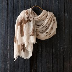 Forest Fox Scarf in Gift Guide Scarves at Terrain $48