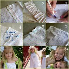 How to...pillow case dress.