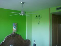 Dormitorio Verde oscuro y verde claro (4)