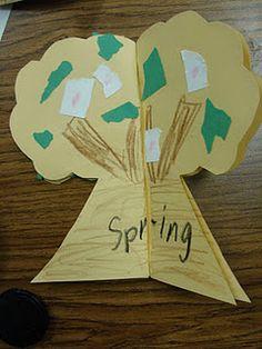 Seasons Tree! I LOVE this idea!