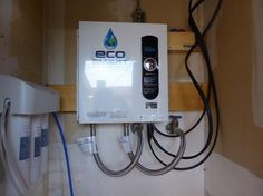 ecosmart 27 kw 53 gpm electric tankless water heater water heatershome