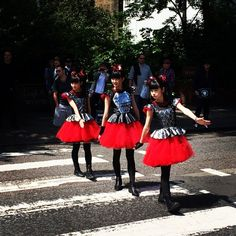 Look who I spotted on Abbey Road @BABYMETAL_JAPAN - one of the many perks of St Johns Wood living #famousinjapan #metal #abbeyroad