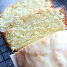 Orange Pound Cake - Cookies and Cups