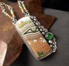 Ocean Jasper Pendant | Flickr - Photo Sharing!