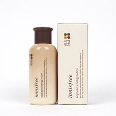 INNISFREE Soybean Energy Lotion 160ml Naturally fermented anti wrinkle,Whitening #INNISFREE