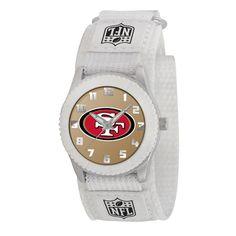 San Francisco 49ers NFL Kids Rookie Series Watch (White)