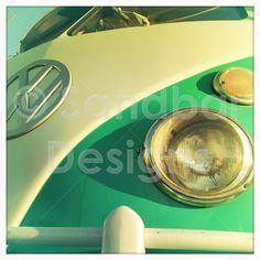 Caribbean Green Bus #SandbarDesigns #VWBus #VW #BusPics #Volkswagen #BusyDreamin.com