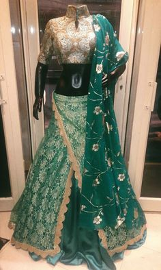 #Pretty #Fusionwear #Trendy #Chic #Wedding-Shopping #Indianfashion #DelhiDairies #Dazzling #Green #QuirkyStyle