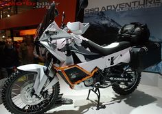 EICMA2009: KTM Special 990 Adventure Motorcycle