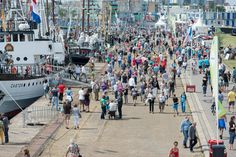 #Drukte #Sail de Ruyter Vlissingen 2013 #jandejongefotografie.nl