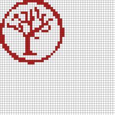 Tree_symbol by Nicky on Kandi Patterns