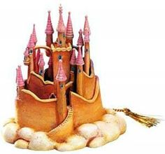 Snow White's castle ornament