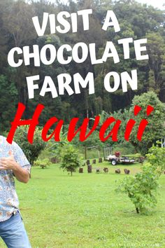 The chocolate fruit is one of the most unique things you can try while visiting the Big Island-- and you can only find it on a cacao farm! It's the perfect activity on the Big Island with kids. | #kids #big #island #hilo #kona #cacao #cocoa #farm #Plantation #chocolate #tree #beans #seeds #unique #family #friendly #hawaii #american #fun #hawaiian