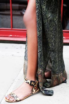 The perfect sandals! #FASHION