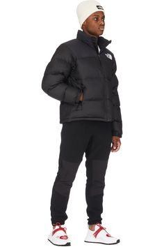 Beauty Of Boys, Black Characters, Black Puffer, Black Pants, Winter Jackets, Winter Wear, Retro, Clothing Accessories, Wallpaper Quotes
