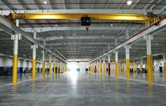 Industrial Facility | Top running cranes | Wesex Corp (Design-Builder) | Desmone Architects (Architect)