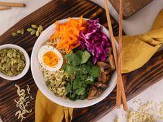 Σαλάτα του σεφ Buddha Bowl, Noodles, Ethnic Recipes, Food, Macaroni, Eten, Noodle, Meals, Pasta