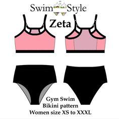 Zeta bikini pattern Active style