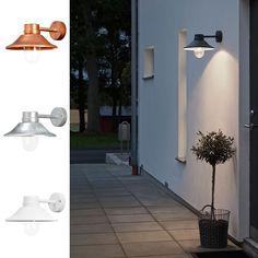 Vega LED Vegglykt - Vegglamper - Utebelysning | Designbelysning.no Exterior Lighting, Outdoor Lighting, Outside Living, Outdoor Spaces, Entrance, Chandelier, Led, Lights, House