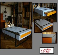 Table with drawers - new work