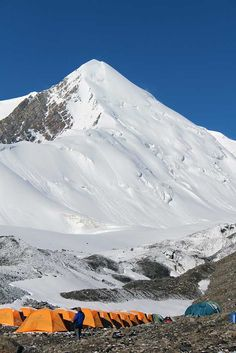 Altitude 7134m, Grade 3C A spectacular 7000m peak offering incredible views of the Pamirs.