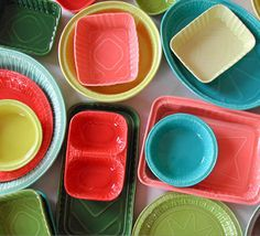 Lorena Barrezueta porcelain dishes cast from take-out containers.  Seriously sad you can't get these anymore.