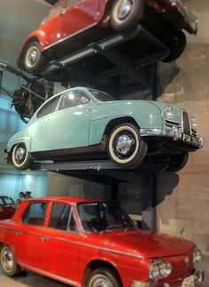 Saab 96 in the Science Museum in London