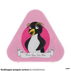 Rockhopper penguin cartoon speaker